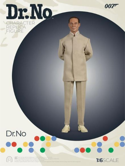*Pre Order* Big Chief Studios Ltd Ed. James Bond Dr. No: 1:6scale Dr Julius No Action Figure